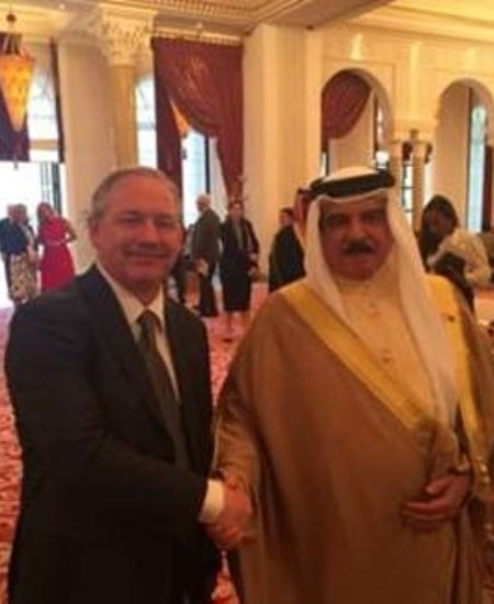 MB President Part of Select American Businessman to meet King of Bahrain