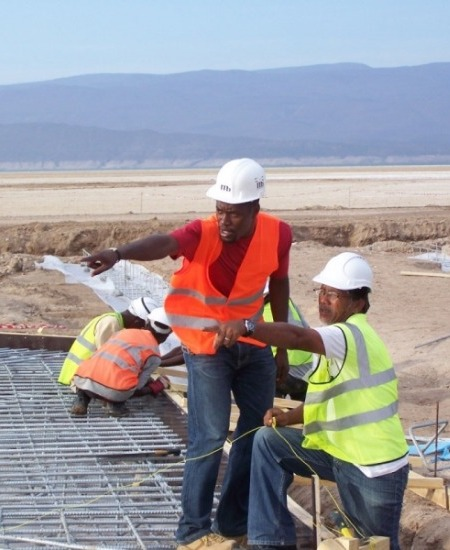 Salt Investment Project Lac Assal, Djibouti